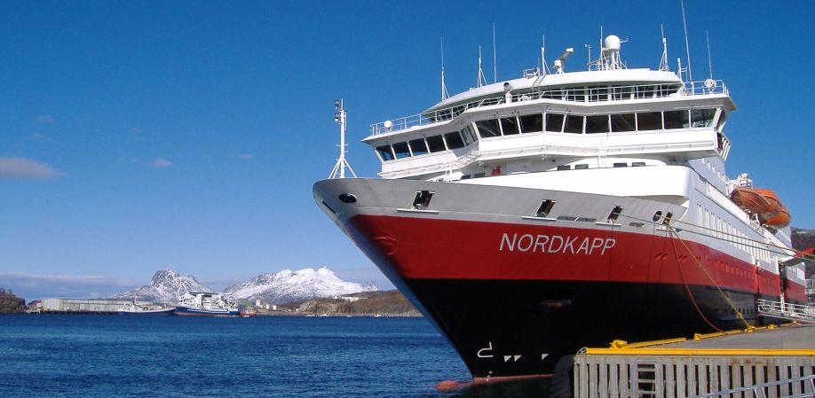 Hurtigruten in Bodo Photo: Innovation Norway/Andrea Giubelli